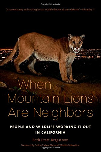 """""""WHEN MOUNTAIN LIONS ARE NEIGHBORS"""" BOOK"""